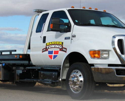 Towing services, ranger towing, tow truck, car towing, medium duty towing